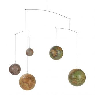 Mobile Globes Multicolore