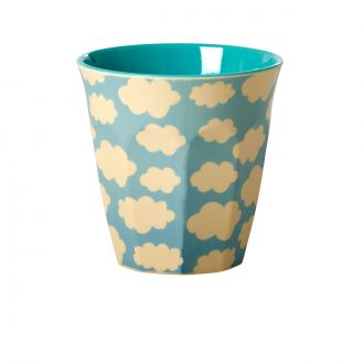 Yellow & Blue Clouds Tumbler
