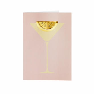 Carte de voeux Cocktail