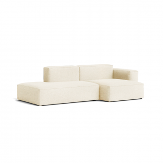 Canapé Méridienne Mags Soft Low 2.5 places - Combinaison 3 right - Hallingdal 100 - Coutures Beige