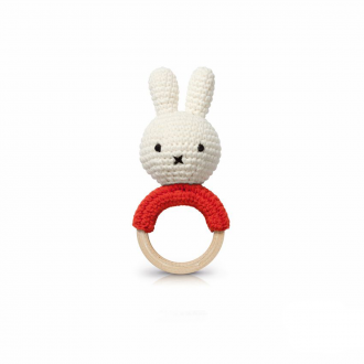 Hochet Miffy rouge