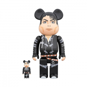 Bearbrick 400+100% MJ - Bad