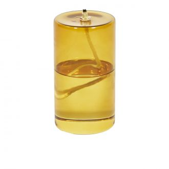 Olie Yellow Oil Lamp - Large