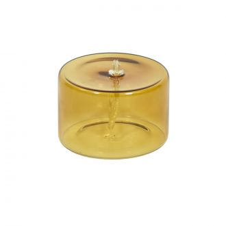 Olie Yellow Oil Lamp - Small