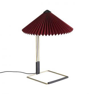 Lampe de table Matin S Rouge Oxyde