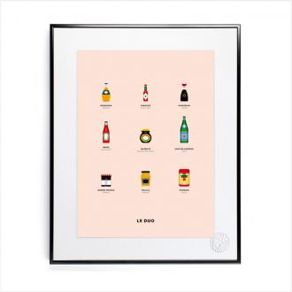 "Poster by Le Duo - ""Packaging"" - 40x50"