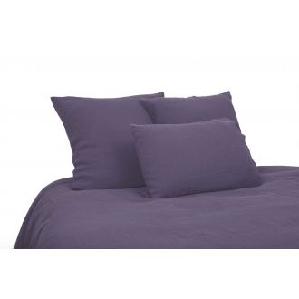 Linen Duvet Cover 240 x 220 - Wilted Plum