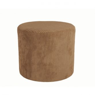 Pouf Glam Marron