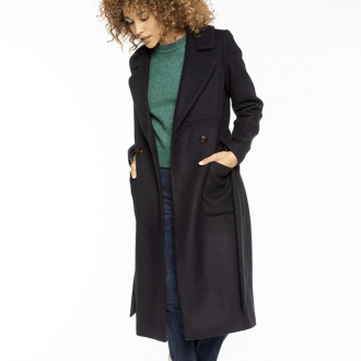 Manteau Beaune Marine