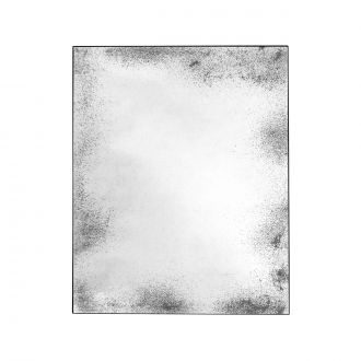 Miroir Rectangle Antique Aged Clear L