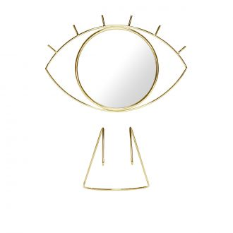 DOIY Gold Eye Standing Mirror