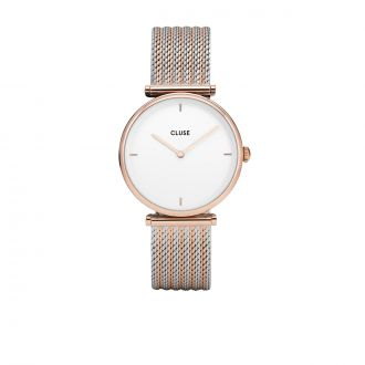 Triomphe Rose Gold Bicolore Mesh