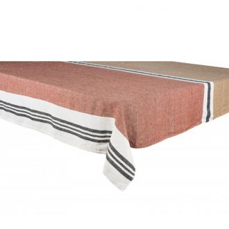 Nappe Lin Trevise Tabac 170x250