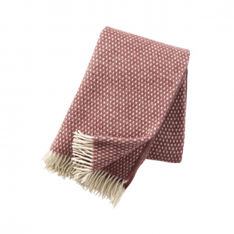 Plaid Knut Rose Marron