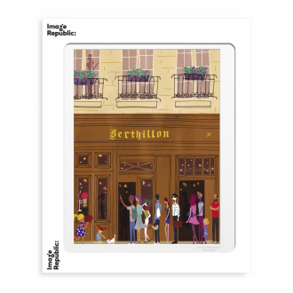 Affiche WLPP paris bertillon 56x76cm