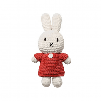 Peluche Miffy uni rouge