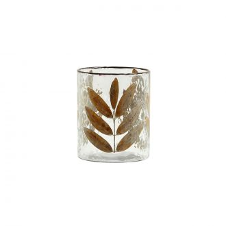 Vase / Photophore Leaves M