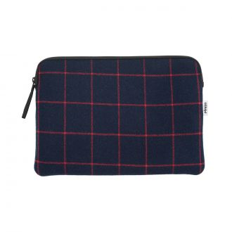 "Pochette Zip Macbook Pro 13"" Frame Blue Red"