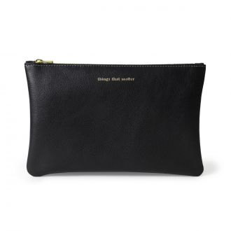 Pochette L Things that matter Noir