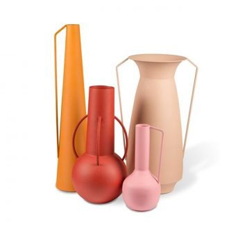 Set de 4 vases roman sunset