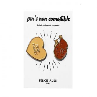 Pin's Duo Poulet