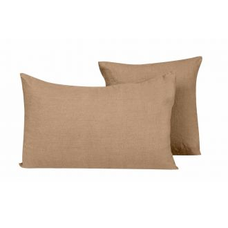 Coussin Propriano camel S - 45 x 45 cm