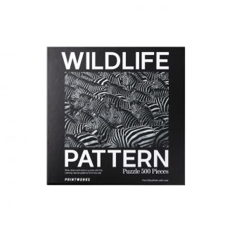 Puzzle - Zebra Wildlife Pattern