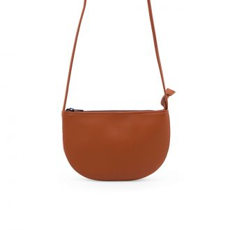 Sac Farou Demi-lune Orange brulé