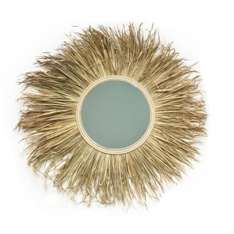 Miroir Grass naturel L