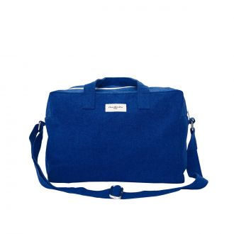 City Bag Sauval Coton - Blue Azurit