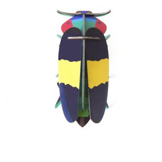 Tricolour Scarab Wall Decoration