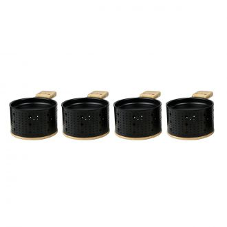 Set of 4 raclette pots