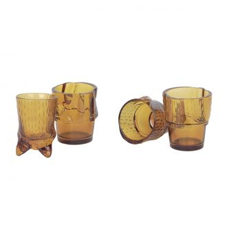 SS20 SET DE VERRES KITTY, Orange