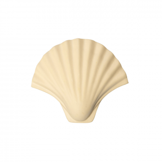 Patère Coquillage Blanc