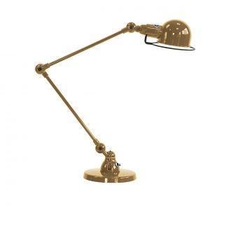 Signal SI333 Pearly Gold 2 - Arm Table Lamp