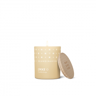 Bougie Parfumée Lykke - Powder yellow 65g