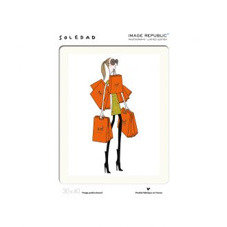 Soledad Orange Bag poster 30 x 40