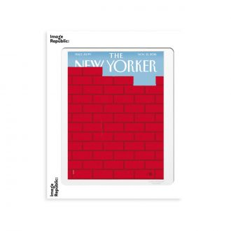 Affiche The NY 180 Staake Red Brick Wall 30 x 40cm