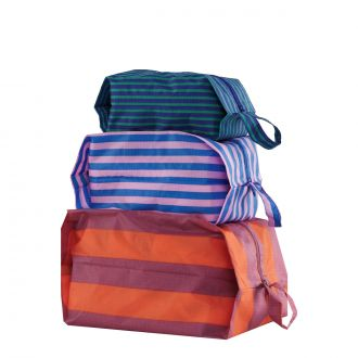 Set de 3 pochettes - Stripe Confection
