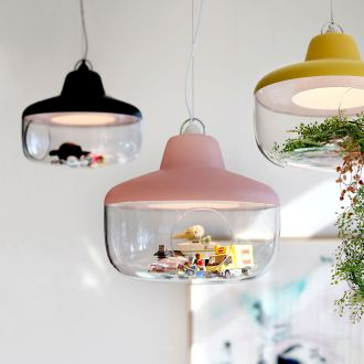 Favourite Things Pink Pendant Light