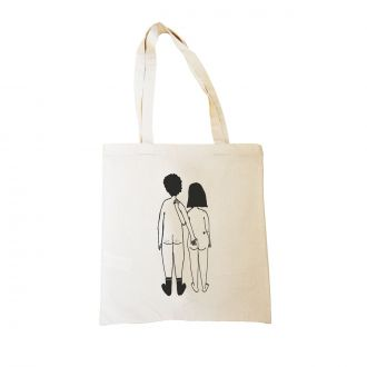 Tote-bag Couple Nu Dos