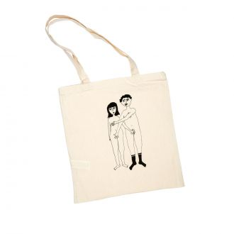 Tote-bag Couple Nu Face