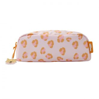 Trousse Animal Print Orange