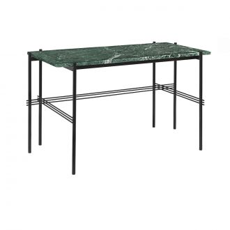 Gubi TS Desk Black & Green Marble