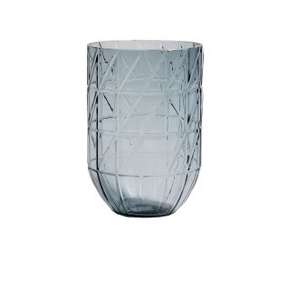 Vase Colour Bleu L
