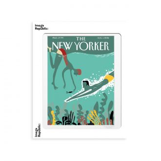 Affiche the NY 160 Viva Beneath The Waves 30x40cm