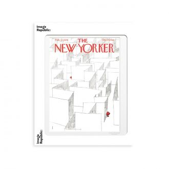 Affiche The NY 181 Weber Labyrinth Of Hearts 30 x 40cm