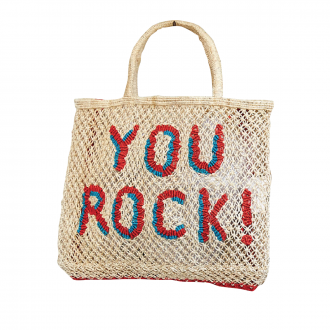 Sac Jute fait main You Rock S